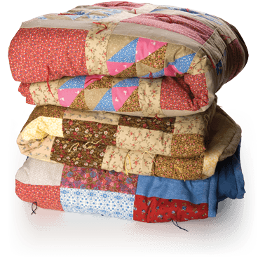 Make mission quilts lutheran. Blanket clipart folded quilt