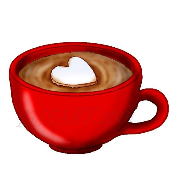 Clipart coffee chocolate. Red hot cocoa clip