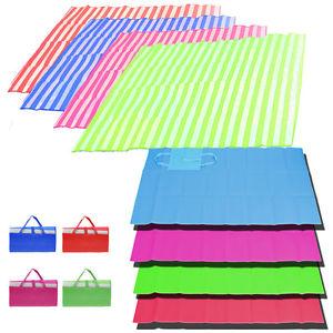 Beach large folding single. Blanket clipart mat
