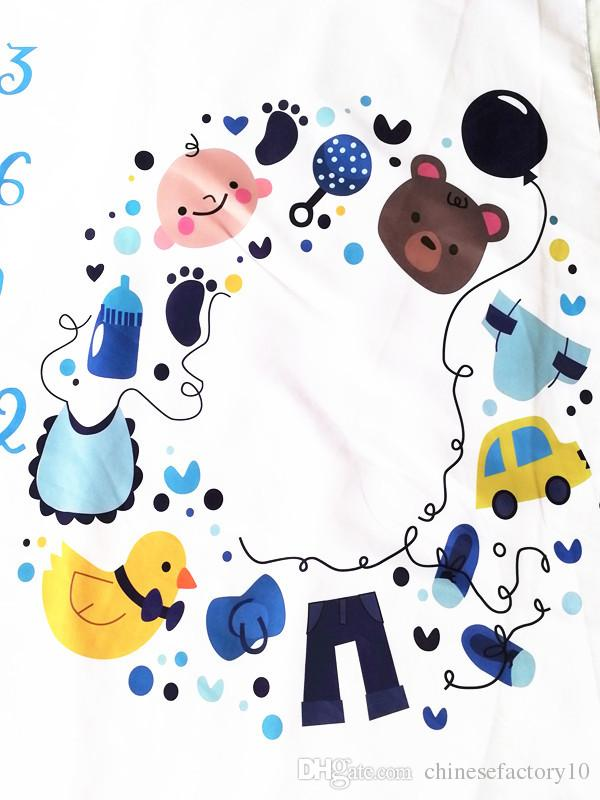 Blanket clipart mat. Ins newborn baby milestone
