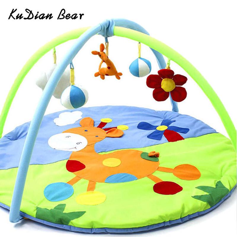 Kudian bear baby play. Blanket clipart mat