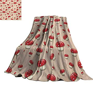 Blanket clipart plush. Amazon com renteriadecor mushroom