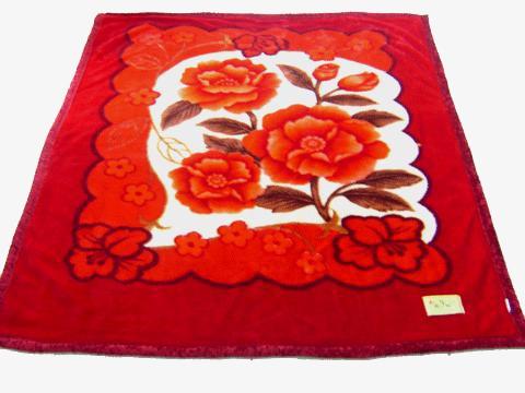 Tile pattern rose png. Blanket clipart red blanket