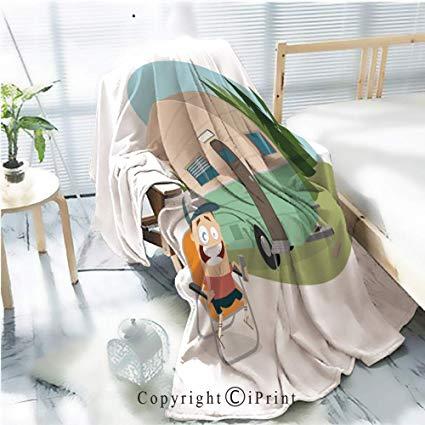 Amazon com printed throw. Blanket clipart soft blanket
