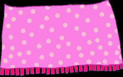 Pink . Blanket clipart transparent background