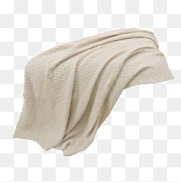 Yellow png material taobao. Blanket clipart woolen
