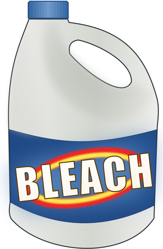 Bleach bottle png. Clipart medium image