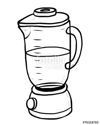Blender clipart black and white. Electric machine stock image