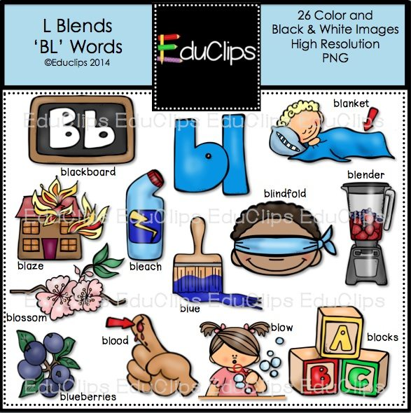 Blender clipart blend. L blends bl words