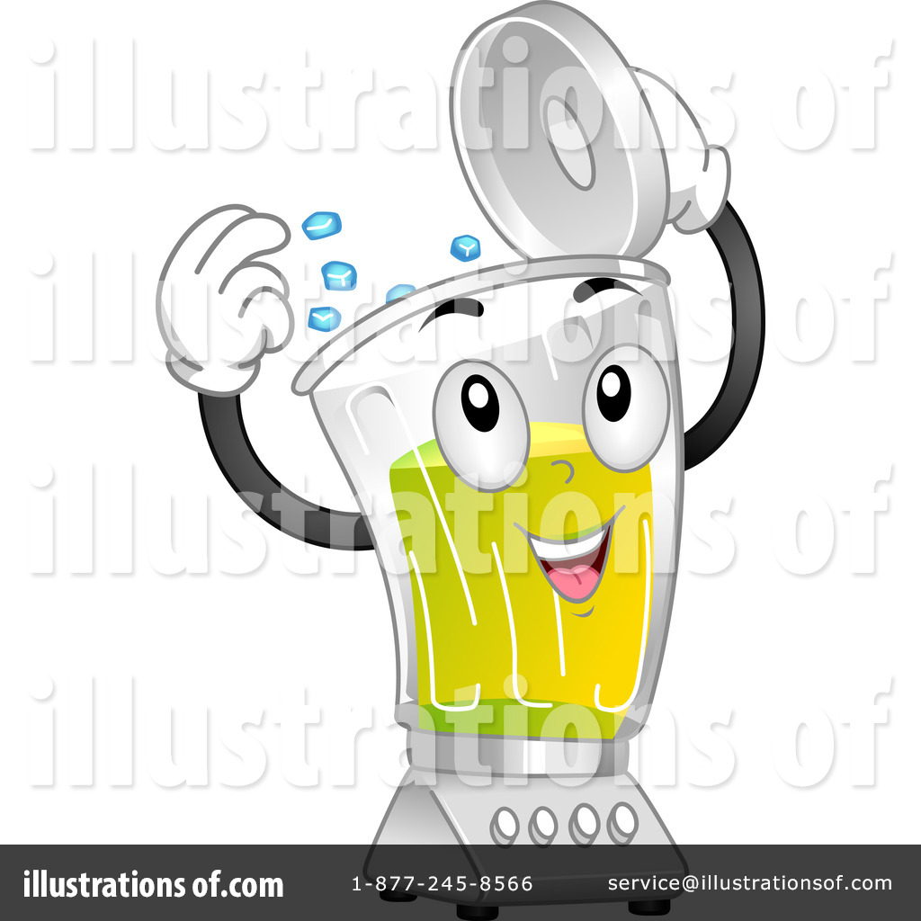 Blender clipart cartoon. Illustration by bnp design