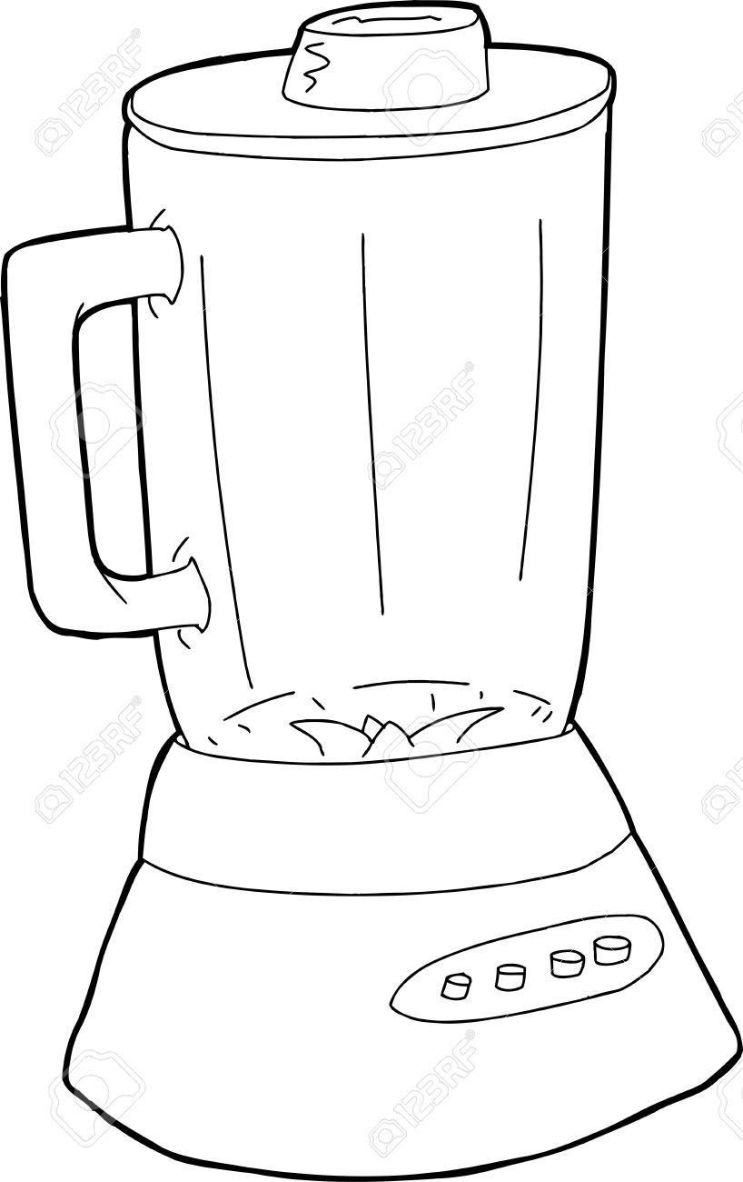Drawing at getdrawings com. Blender clipart cartoon