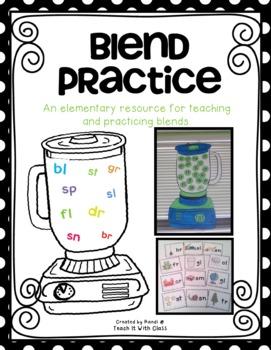 Blends teaching resources teachers. Blender clipart consonant blend