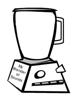 Blender clipart consonant blend. Teaching resources teachers pay