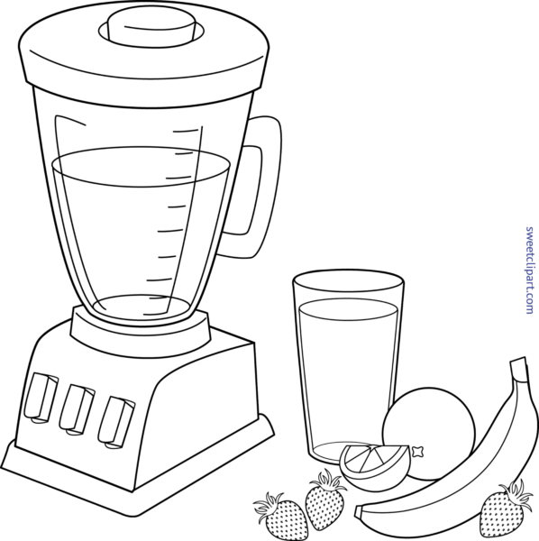 Blender clipart drawing. Guest author at sweet