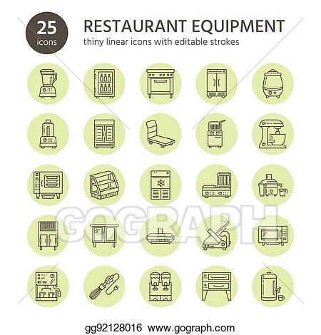 Eps illustration restaurant professional. Blender clipart food processor