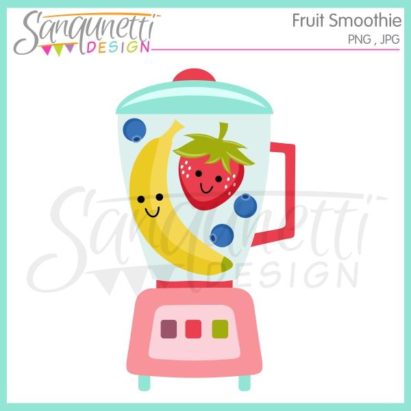Blender clipart fruit smoothie. Sanqunetti design