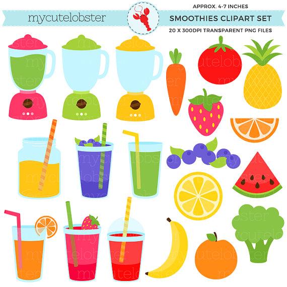 Smoothies set blenders fruits. Blender clipart fruit smoothie