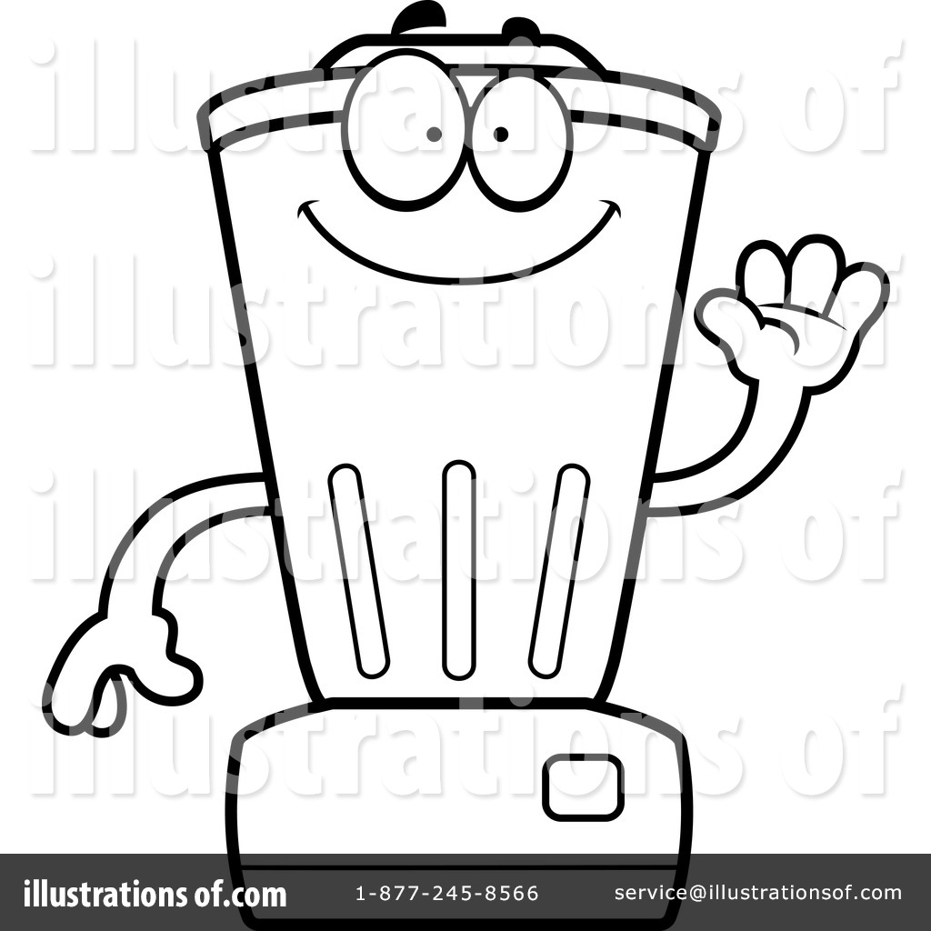 Blender clipart happy. Illustration by cory thoman