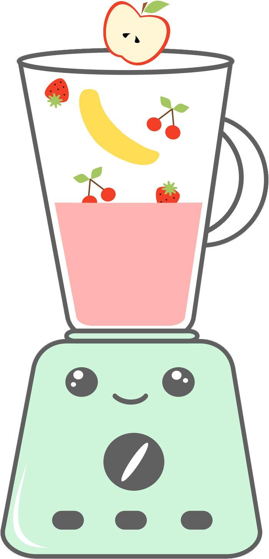 Blender clipart happy. Amazon com cute kawaii