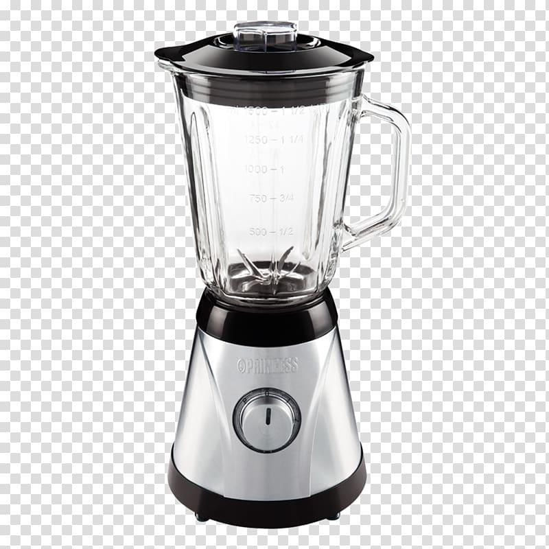 Silver and black smoothie. Blender clipart juice blender