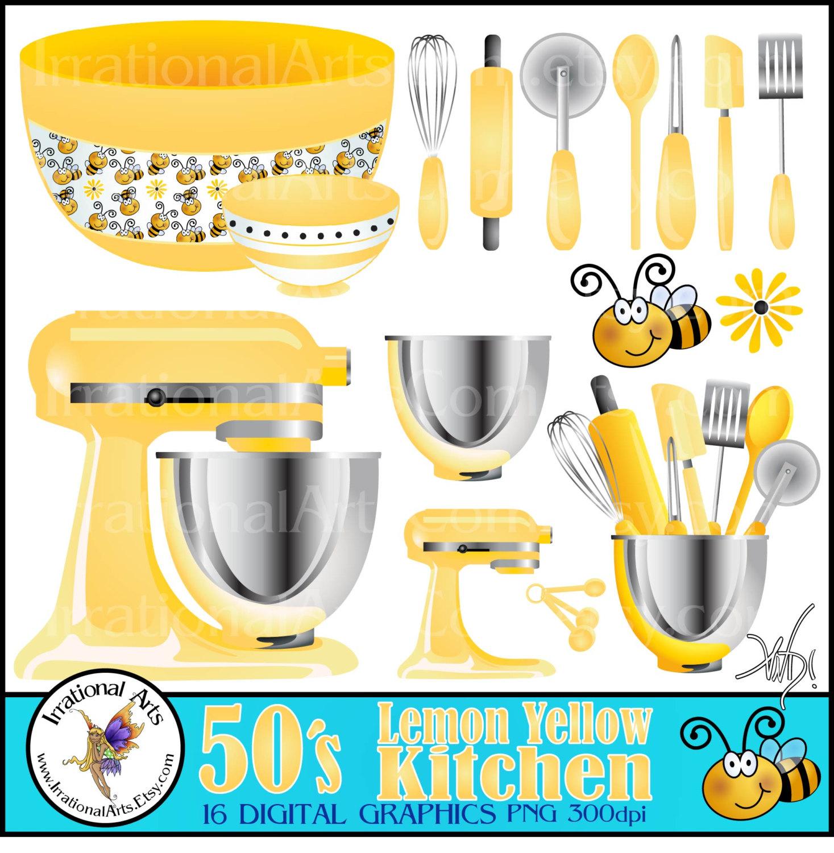 s lemon yellow. Blender clipart kitchen supply