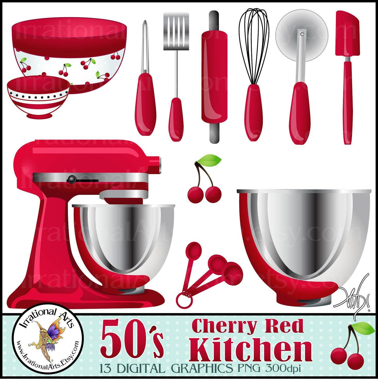 s cherry red. Blender clipart kitchen supply