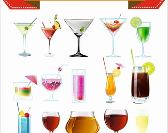 Etsy alcohol and cocktails. Blender clipart kitchen supply