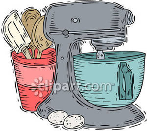 Blender clipart kitchen supply. A large electric mixer