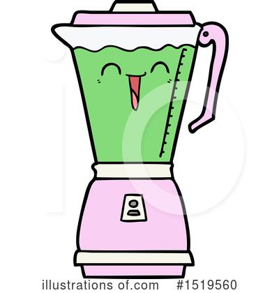 Illustration by lineartestpilot . Blender clipart milkshake
