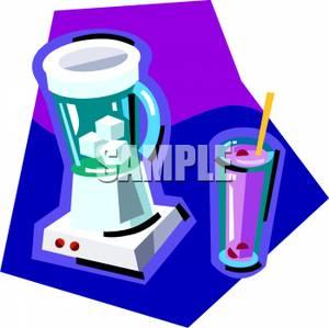 Blender clipart milkshake. Picture a next to