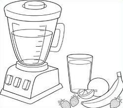 blender clipart milkshake