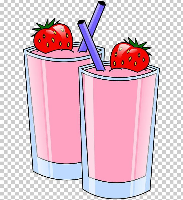 Strawberries clipart soda. Smoothie milkshake juice health