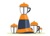 Free kitchen clip art. Blender clipart mixer grinder