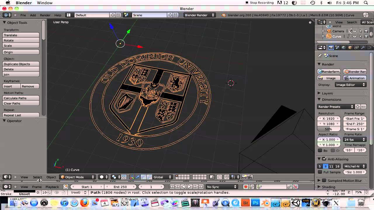 Blender clipart object. Converting d image to