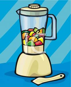Blender clipart smoothie maker. Clip art image chopped