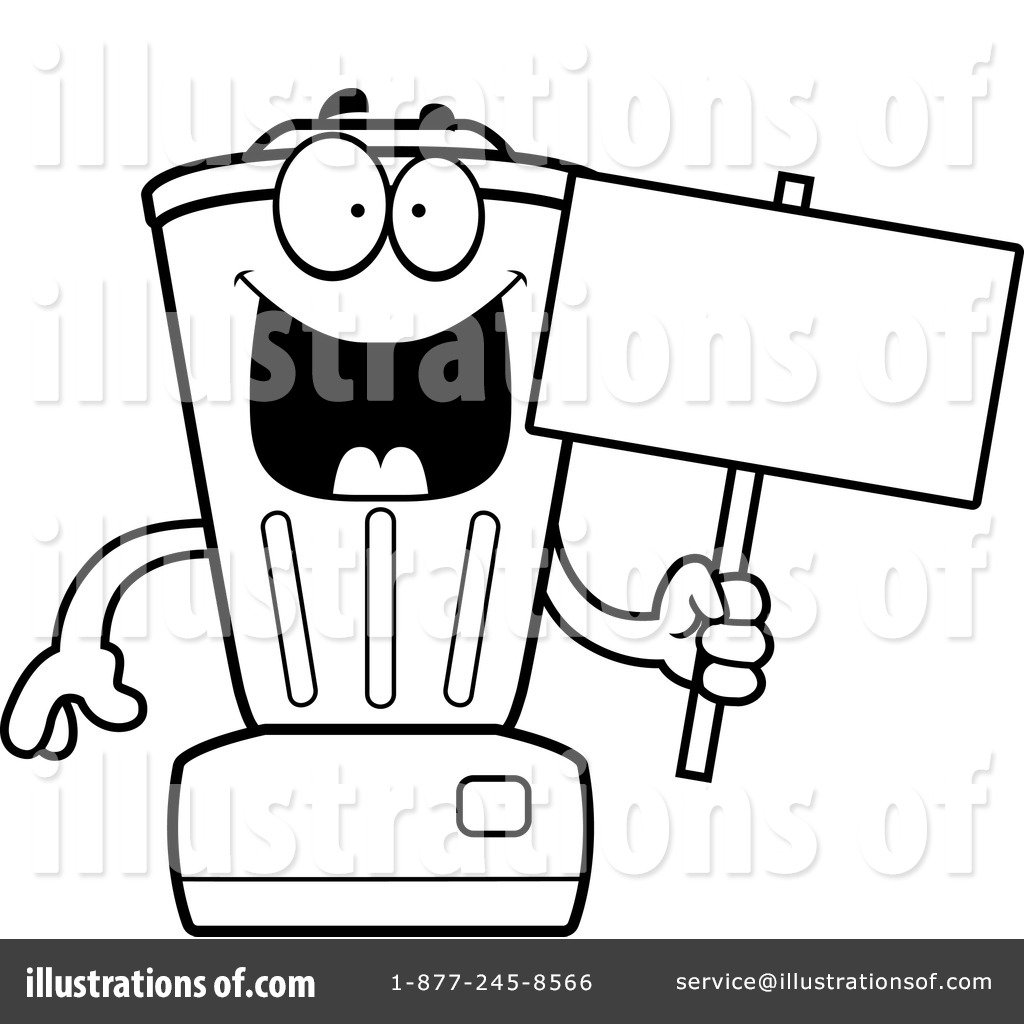Blender clipart template. Illustration by cory thoman