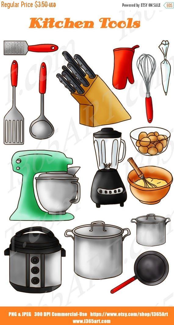 Blender clipart utensils. Kitchen clip art baking