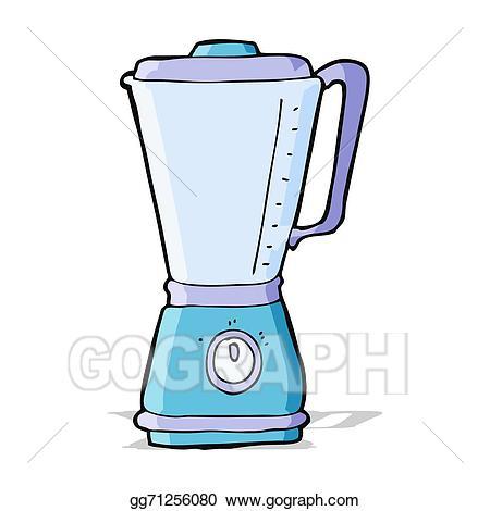Blender clipart vector. Art cartoon kitchen eps