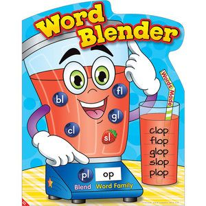 Poster and magnets kit. Blender clipart word