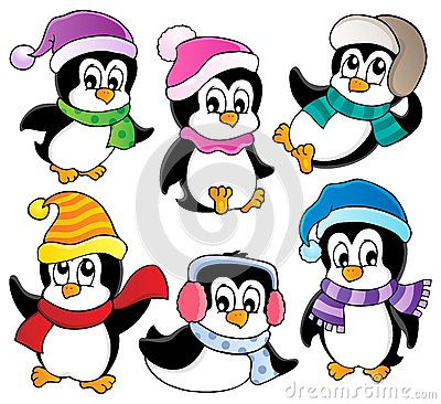 Blizzard clipart cartoon. And penguin