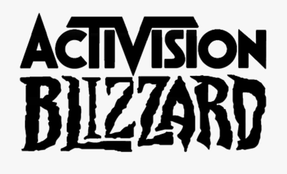 Logo png activision white. Blizzard clipart cartoon