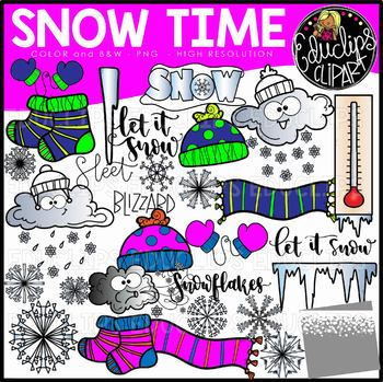 Snow time clip art. Blizzard clipart cold season