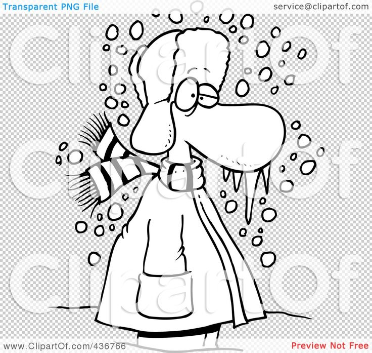 Blizzard clipart cold winter day.  best clip art