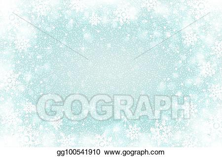 Blizzard clipart frost. Vector stock snow effect