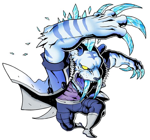Blizzard clipart frost. Tiger villains wiki fandom