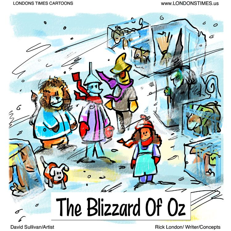 Blizzard clipart humor. Of oz by ltcartoons