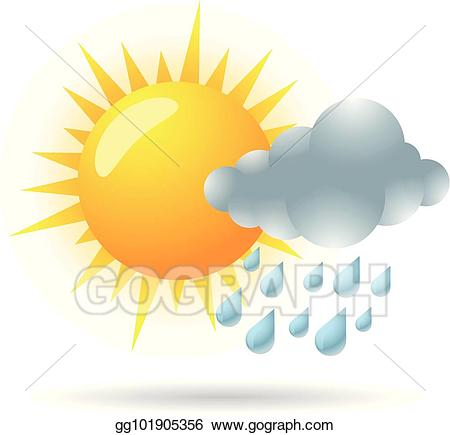 Vector stock color weather. Blizzard clipart icon