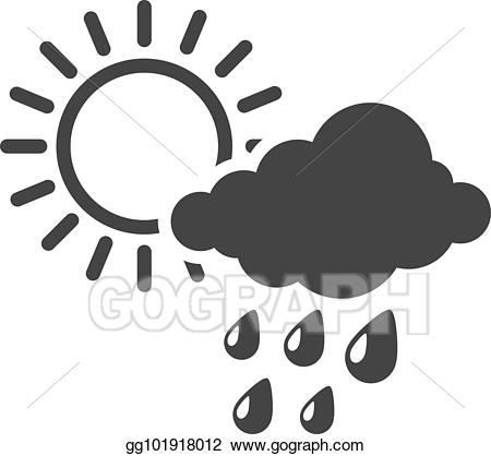 Blizzard clipart icon. Vector stock bw icons