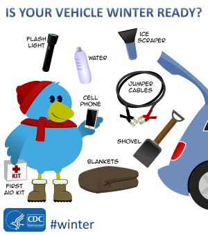 Blizzard clipart inclement weather. Preparedness checklists winter is