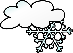 Snowy panda free images. Blizzard clipart inclement weather
